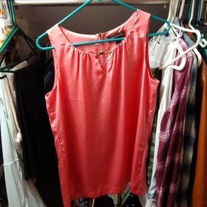 Dana Buchman Tops - Peach blouse